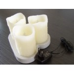 Premium rechargeable candle ---Wax(MP03RW)
